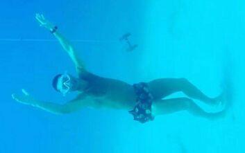 Κριστιάνο Ρονάλντο σε βάθος 14 μέτρων: «Φωνάζετε με Ποσειδώνα»