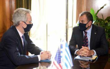 Oruc Reis: Η Τουρκία στο επίκεντρο της συνάντησης Παναγιωτόπουλου – Πάιατ