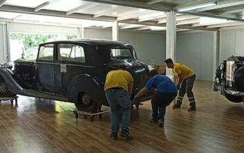 Το Υπουργείο Πολιτισμού απαντά σε ερωτήματα για τη συντήρηση των βασιλικών οχημάτων στο Τατόι