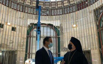 Αρχιεπίσκοπος Ελπιδοφόρος: Ευγνώμων για την ανοικοδόμηση του Αγίου Νικολάου στο Σημείο Μηδέν