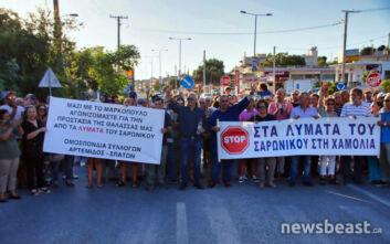 Νομική προσφυγή από τον δήμο Μαρκοπούλου προκειμένου να μην χυθούν επεξεργασμένα λύματα στη θάλασσα του Πόρτο Ράφτη