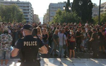 Διαμαρτυρία των εργαζομένων στον κλάδο της διασκέδασης στην Αθήνα - Το «παρών» έδωσε και η Αναστασία Γιουσέφ