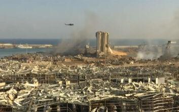 Η Βηρυτός... από ψηλά: Εικόνες βιβλικής καταστροφής μετά από τις εκρήξεις - Η ισοπεδωτική αλλαγή της πόλης