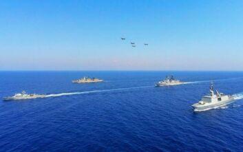 Εντυπωσιακές εικόνες από την στρατιωτική άσκηση Eunomia στην Ανατολική Μεσόγειο