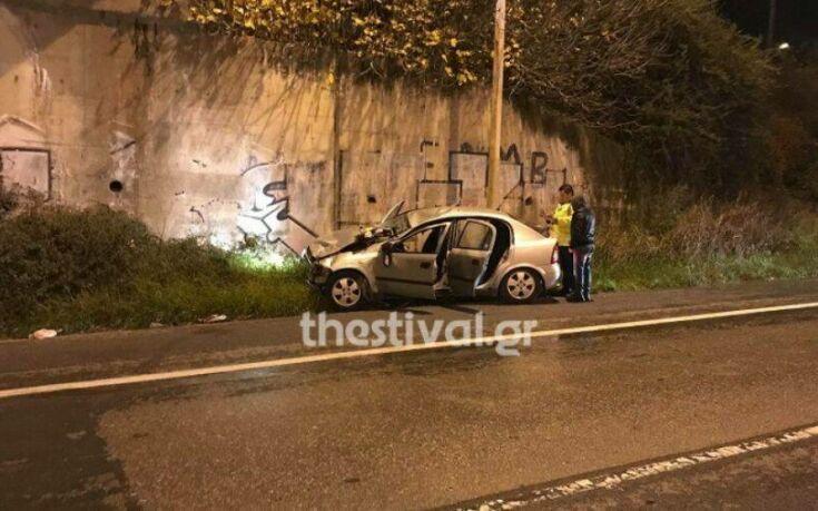 Θεσσαλονίκη: Σκοτώθηκε σε τροχαίο ένας 21χρονος