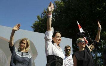 «Όταν νιώσει ασφαλής» θα επιστρέψει στη Λευκορωσία η επικεφαλής της αντιπολίτευσης