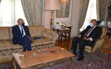 Δένδιας: Η συμφωνία με την Αίγυπτο στέλνει στον κάλαθο των αχρήστων το μνημόνιο Τουρκίας - Λιβύης