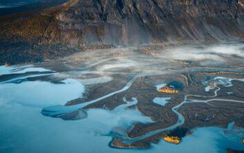 Η μεγαλειώδης ομορφιά της Γης στις αεροφωτογραφίες του Tobias Hägg