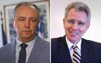 Καράογλου και Πάιατ συζήτησαν τις σχέσεις Ελλάδας-Τουρκίας