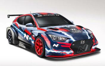Veloster N ETCR: Το ηλεκτρικό αγωνιστικό αυτοκίνητο της Hyundai