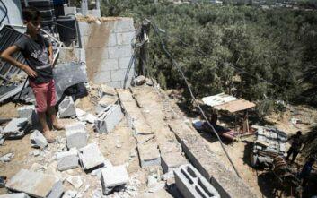 Νέους βομβαρδισμούς κατά θέσεων της Χαμάς στη Γάζα ανακοίνωσε το Ισραήλ