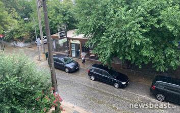 Έφτασε η «Θάλεια» στην Αττική: Δυνατή βροχή στα Βόρεια Προάστια