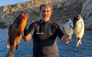 Μεγάλη ψαριά για τον Παύλο Πολάκη