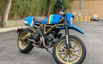 Μια custom Ducati να την τρως με τα μάτια