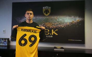 Παίκτης της ΑΕΚ μέχρι το 2025 ο Καρακλάιτς
