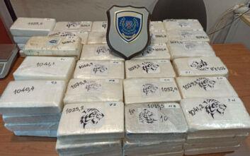 Πάτρα: Φορτίο-μαμούθ με 100 κιλά κοκαΐνης μέσα σε φορτηγό