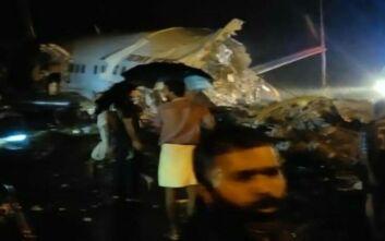 Αεροπορικό δυστύχημα στην Ινδία: Συγκλονίζουν οι πρώτες εικόνες