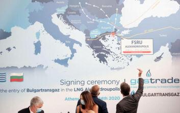 Μητσοτάκης: Η Αλεξανδρούπολη μετατρέπεται σε ενεργειακό κόμβο παγκόσμιας εμβέλειας