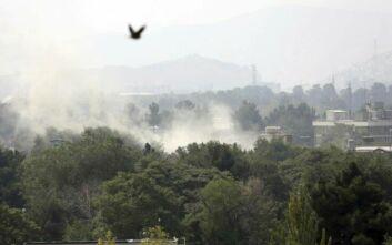 Ρουκέτες στην Καμπούλ, κοντά στη διπλωματική συνοικία