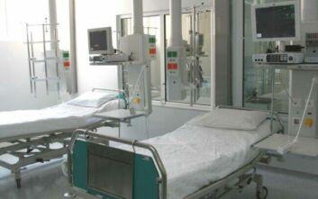 Λάρισα: Στη ΜΕΘ του Πανεπιστημιακού Γενικού Νοσοκομείου δύο κρούσματα κορονοϊού