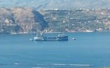 Στη Σούδα το πολεμικό αμερικανικό πολεμικό-γίγας USS Hershel «Woody» Williams