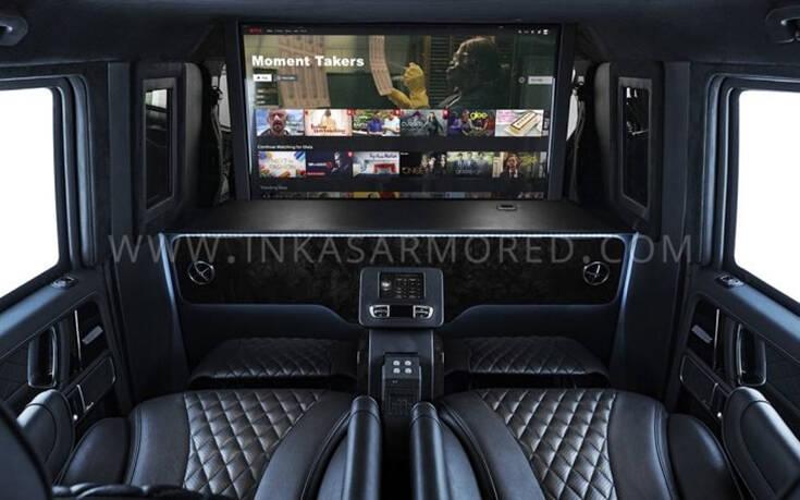 Έτσι μετατρέπεις σε θωρακισμένη λιμουζίνα μια G63 Mercedes AMG – Newsbeast