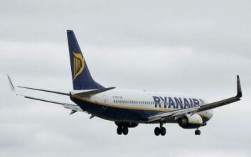 Σηκώθηκαν καταδιωκτικά στο Λονδίνο για αεροπλάνο της Ryanair: Σήμανε συναγερμός για τρομοκρατία