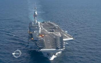 Γαλλικά ΜΜΕ: Το αεροπλανοφόρο Charles de Gaulle σύντομα στην Ανατολική Μεσόγειο