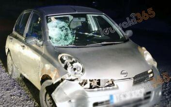 Λουτράκι: Αυτοκίνητο παρέσυρε πεζή ενώ νωρίτερα είχε χτυπήσει και έναν διανομέα