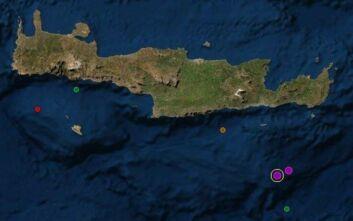 Δύο σεισμοί στην Ιεράπετρα το πρωί του Σαββάτου
