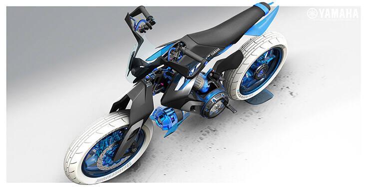 Η Yamaha οραματίζεται μια μηχανή που λειτουργεί με… νερό – Newsbeast
