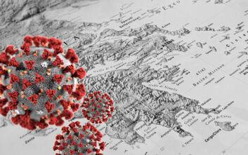 Κορονοϊός: Και πάλι στα κόκκινα η Αττική - Δείτε τη γεωγραφική κατανομή των κρουσμάτων