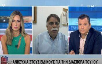 Βατόπουλος: Πόσες μέρες πρέπει να είναι προσεχτικοί όσοι γύρισαν από διακοπές