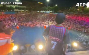 Χιλιάδες Κινέζοι στην Ουχάν σε πάρτι... συνωστισμού: Το αδιαχώρητο χωρίς μάσκες και αποστάσεις