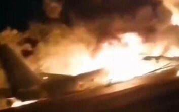 Στρατιωτικό αεροσκάφος συνετρίβη στην Ουκρανία: Συγκλονίζουν οι πρώτες εικόνες - Τουλάχιστον 22 νεκροί