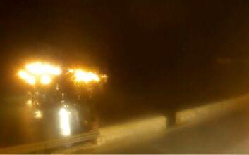 Καιρός: LIVE εικόνα από το πέρασμα του Ιανού στην Κέρκυρα