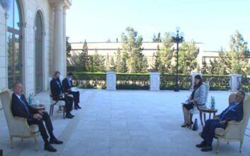 Πρόεδρος Αζερμπαϊτζάν σε Έλληνα πρέσβη: Είμαστε αδέρφια με την Τουρκία και θα την υποστηρίξουμε