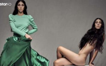 GNTM 3: Μαγεύτηκε η Ζενεβιέβ Μαζαρί με τη φωτογραφία της παίκτριας -«Εξωπραγματικό το γυμνό σου»
