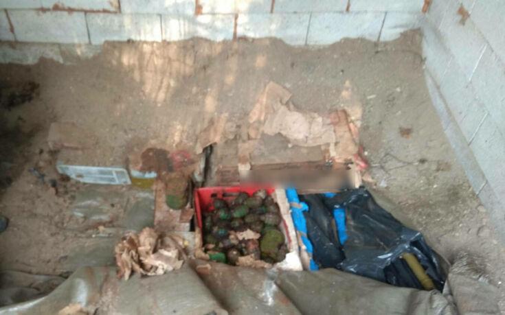 Έγκλειστος για υποθέσεις ναρκωτικών, όπλων και αρχαιοκαπηλίας ο ιδιοκτήτης του οπλοστασίου στην Καστοριά