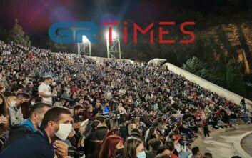 Απίστευτος συνωστισμός σε  παράσταση stand up comedy στη Θεσσαλονίκη