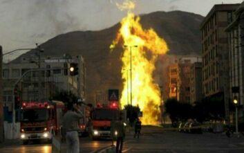 Μεγάλη φωτιά σε εργοστάσιο κοντά στην Τεχεράνη