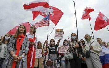 Λευκορωσία: Χιλιάδες άνθρωποι διαδήλωσαν σε όλη τη χώρα κατά του Λουκασένκο
