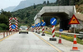 Προσωρινές κυκλοφοριακές ρυθμίσεις στον αυτοκινητόδρομο Κορίνθου - Πατρών