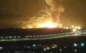 Ισχυρές εκρήξεις ισοπέδωσαν αποθήκη όπλων στο Αμάν της Ιορδανίας