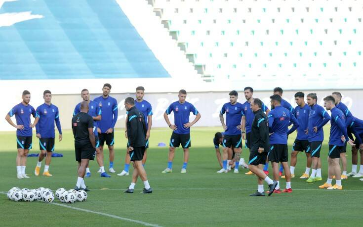 Αυτή είναι η 11άδα της Ελλάδας για το ματς με τη Σλοβενία