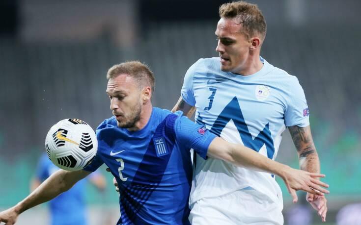 Καλή αλλά χωρίς γκολ η Ελλάδα, 0-0 με τη Σλοβενία στη Λιουμπλιάνα