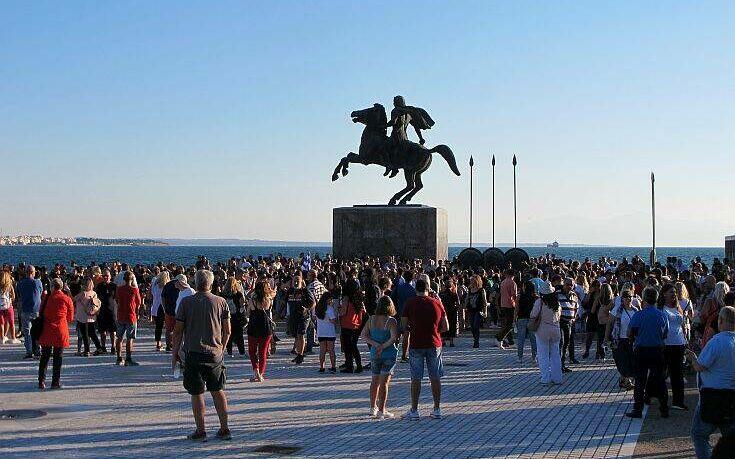 Συγκεντρώσεις σε πόλεις της Ελλάδας κατά της χρήσης μάσκας στα σχολεία 4