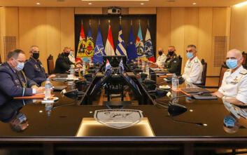 Η Ανατολική Μεσόγειος στο επίκεντρο της επίσκεψης του Ολλανδού επικεφαλής των Ενόπλων Δυνάμεων
