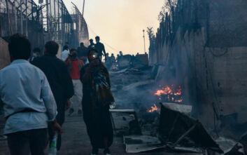 Τα τέσσερα σημεία που επικεντρώνεται η κυβέρνηση για τις συνθήκες έκτακτης ανάγκης στη Μόρια