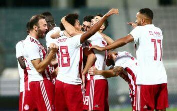 Ο Ολυμπιακός 1-0 την ΑΕΚ και κατέκτησε το 28ο κύπελλο - 18 νταμπλ οι ερυθρόλευκοι